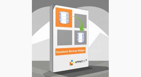 Database Backup Widget