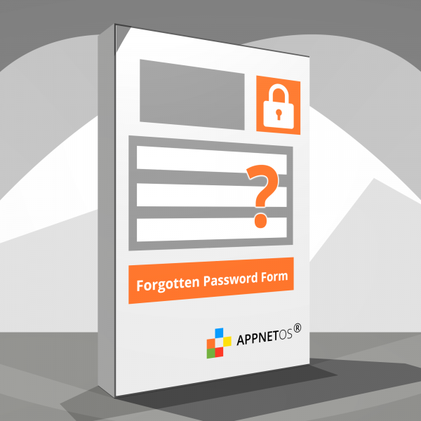 APPNET OS Forgotten Password Form