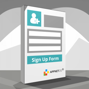 APPNET OS Sign up form