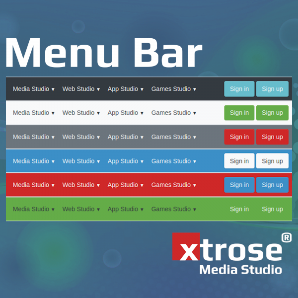 xtrose Menu Bar